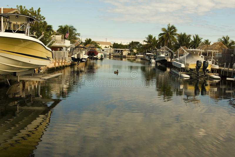 佛罗里达盐水湖 免版税库存照片