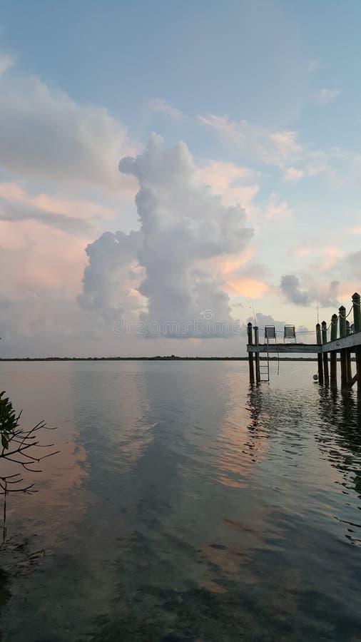 佛罗里达群岛早晨 免版税库存图片