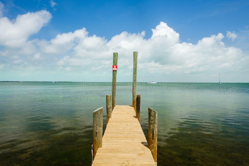 佛罗里达群岛海景 免版税库存图片