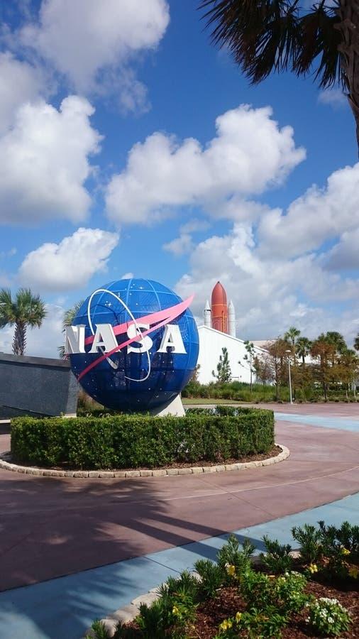 佛罗里达肯尼迪航天中心 免版税库存图片