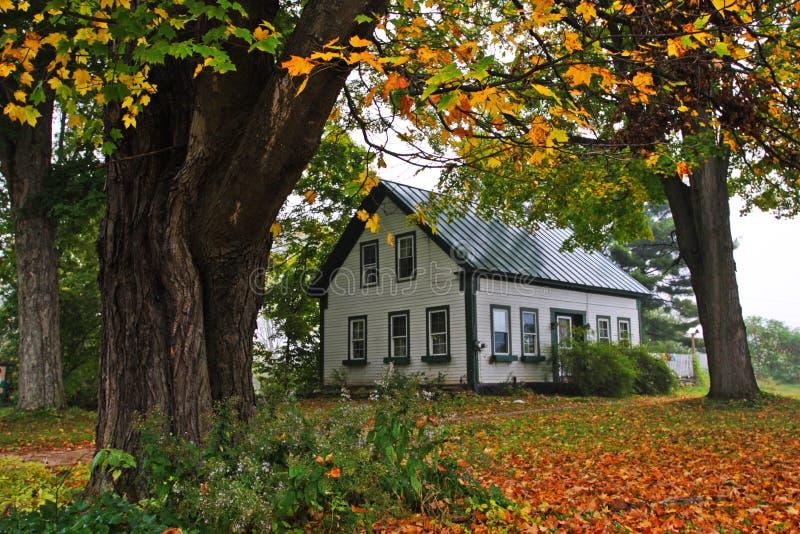 佛蒙特乡下,美国的储蓄图象 免版税图库摄影