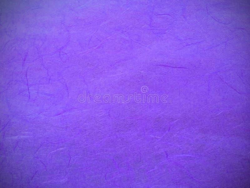 作为模板背景纹理使用的小插图经典紫色桑树纸摘要样式 库存图片