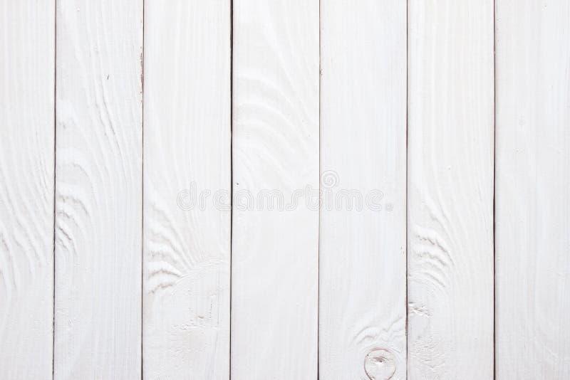作为纹理和背景的葡萄酒白色木板条 库存照片
