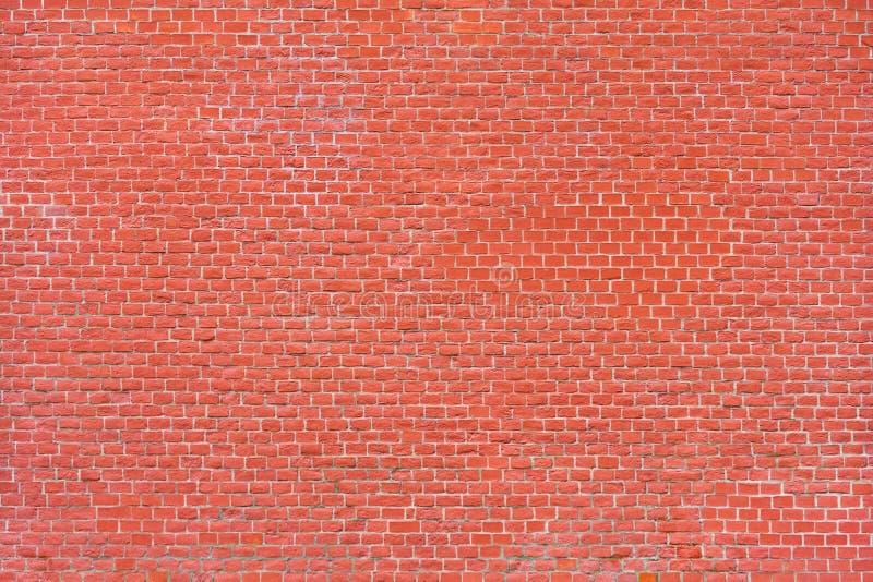 作为纹理的红砖墙壁 库存图片