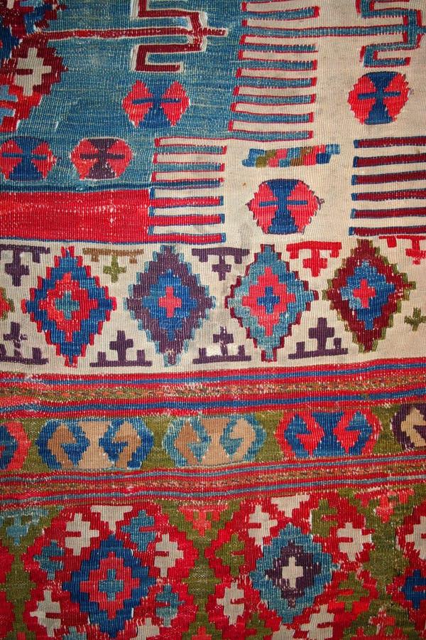 作为背景地毯土耳其 免版税库存照片