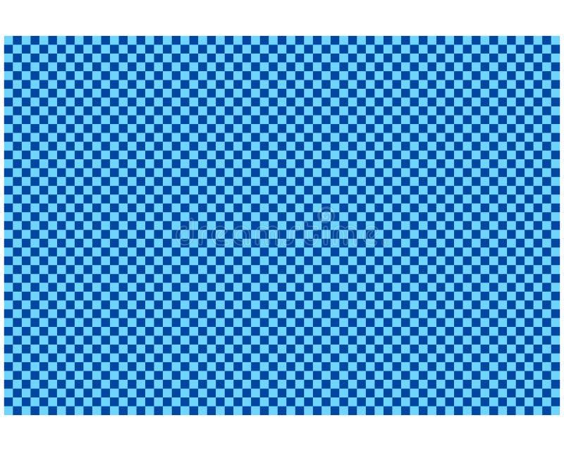 作为背景的棋盘样式 库存例证