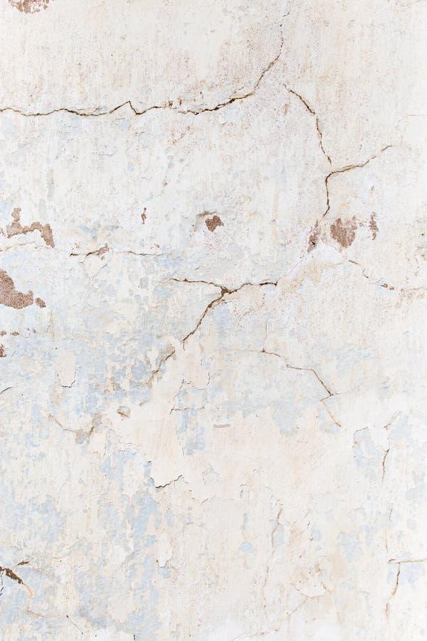 作为背景的破裂的混凝土墙 纹理 库存照片