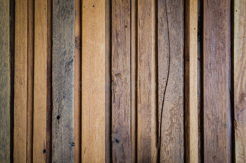 作为背景的老木板条纹理 免版税库存照片