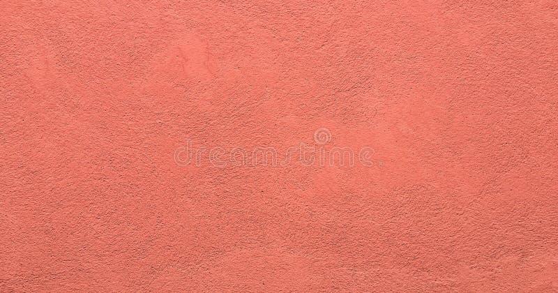 作为背景的脏的被绘的墙壁纹理 破裂的水泥葡萄酒地板,被绘的老红色 背景被洗涤的绘画 免版税库存照片
