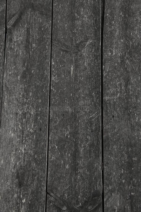 作为背景的自然灰色老木板条纹理 免版税库存照片