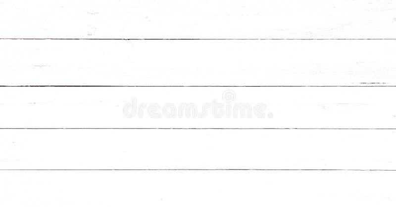 作为背景的轻的白色软的木纹理表面 难看的东西粉刷了木板条桌样式顶视图 库存图片