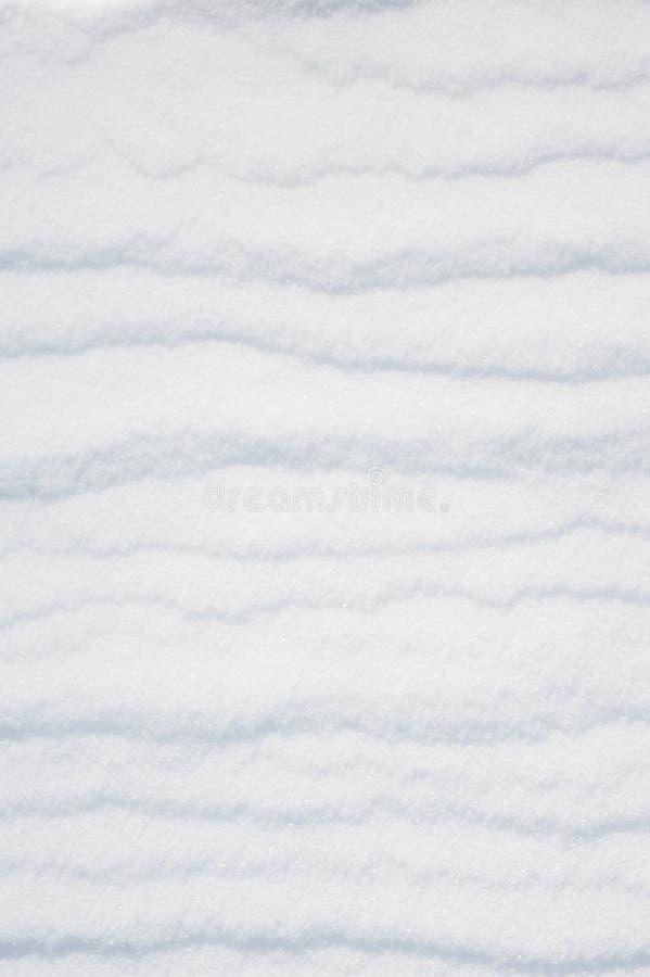 作为背景的镶边雪 免版税库存照片