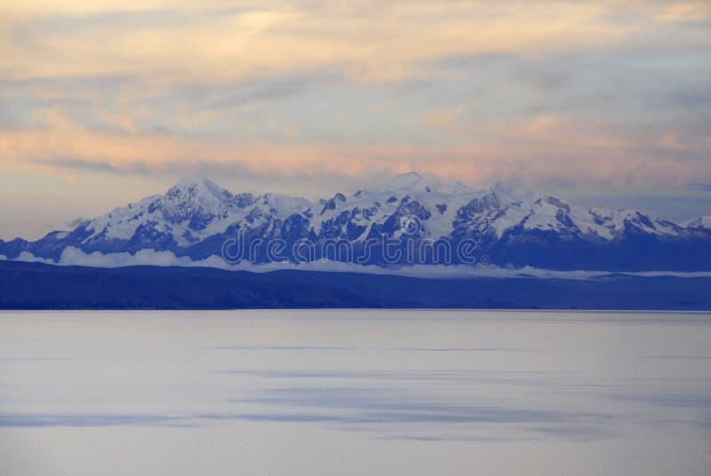 作为被看见的del isla湖sol titicaca 免版税库存照片