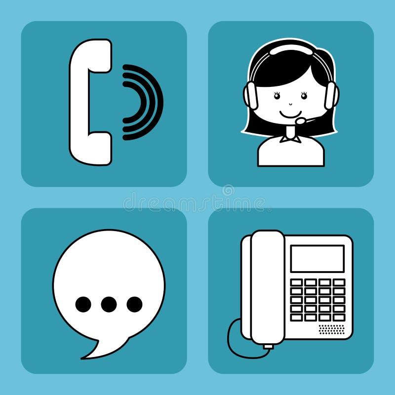 Download 作为覆盖客户友好帮助有用的爱服务微笑对非常您的美丽的女实业家的天使 向量例证 - 插画 包括有 通知, 电话推销: 59101479