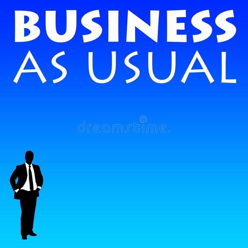 作为通常的商业 库存例证