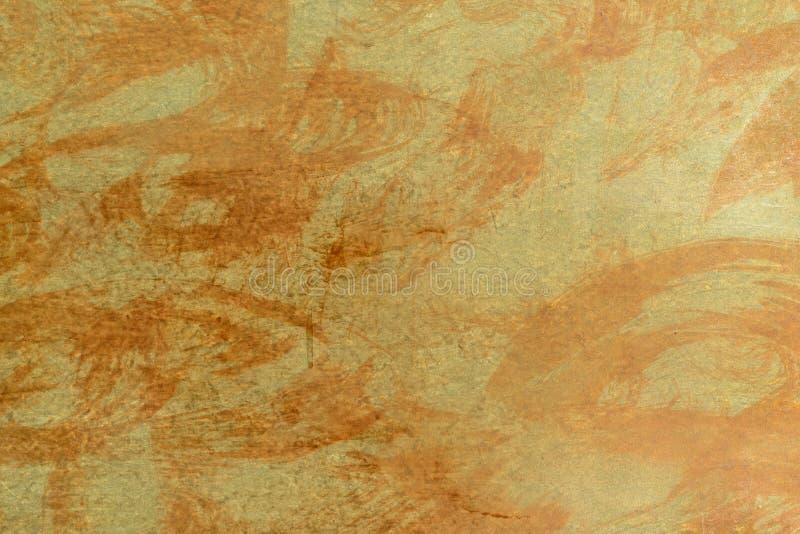 作为金属片背景的铁锈纹理 免版税图库摄影