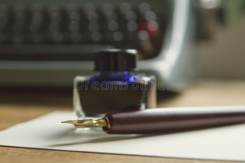 作家工具 库存照片