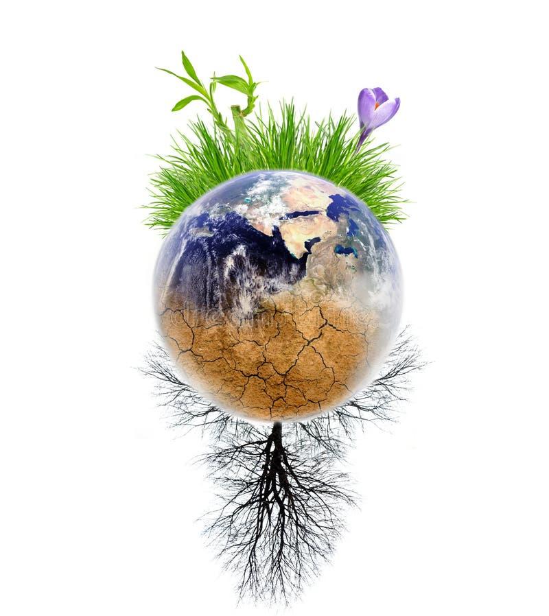 作用全球性变暖 免版税图库摄影