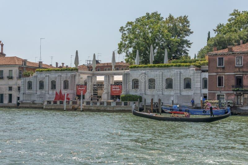 佩吉古根海姆美术馆,威尼斯,意大利 库存照片