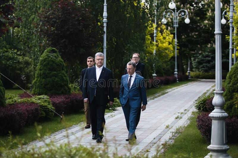 佩德罗波罗申科和寇特弗尔克尔 免版税库存照片