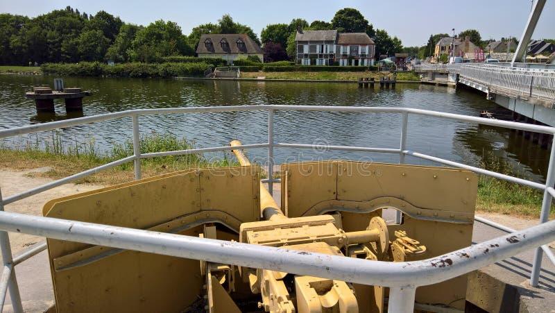佩格瑟斯桥梁防御 库存照片