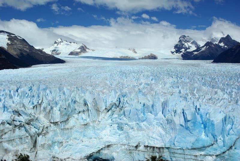 佩里托莫雷诺冰川,阿根廷 库存图片