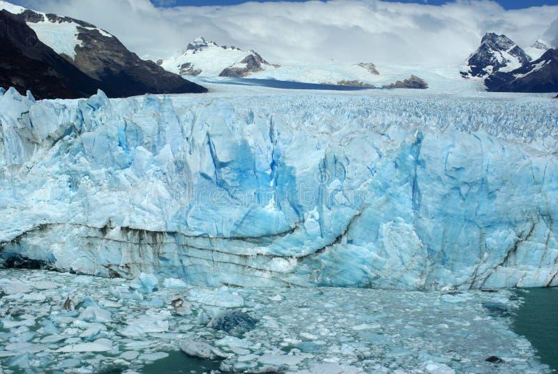 佩里托莫雷诺冰川,阿根廷 免版税图库摄影