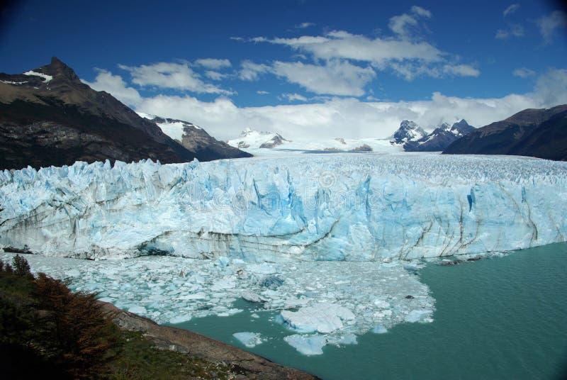 佩里托莫雷诺冰川,阿根廷 图库摄影