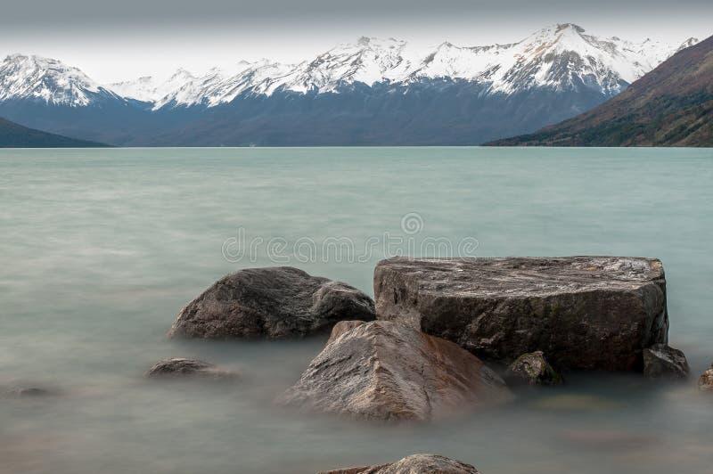 佩里托莫雷诺冰川,巴塔哥尼亚-阿根廷 免版税库存照片