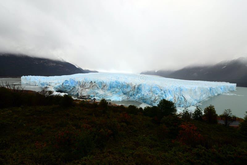 佩里托莫雷诺冰川 图库摄影