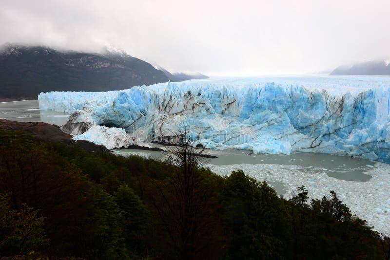 佩里托莫雷诺冰川 免版税库存照片