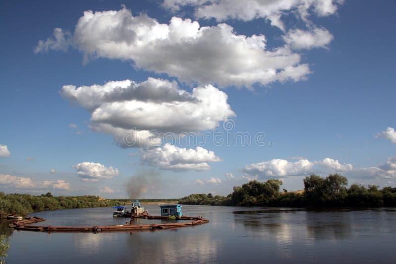 使俄语环境美化 免版税库存图片