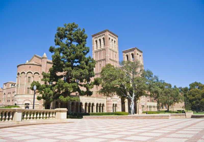使大学环境美化的校园陆运 免版税库存图片