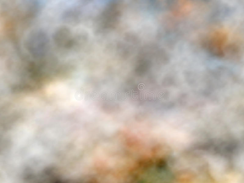 使有大理石花纹的烟 向量例证