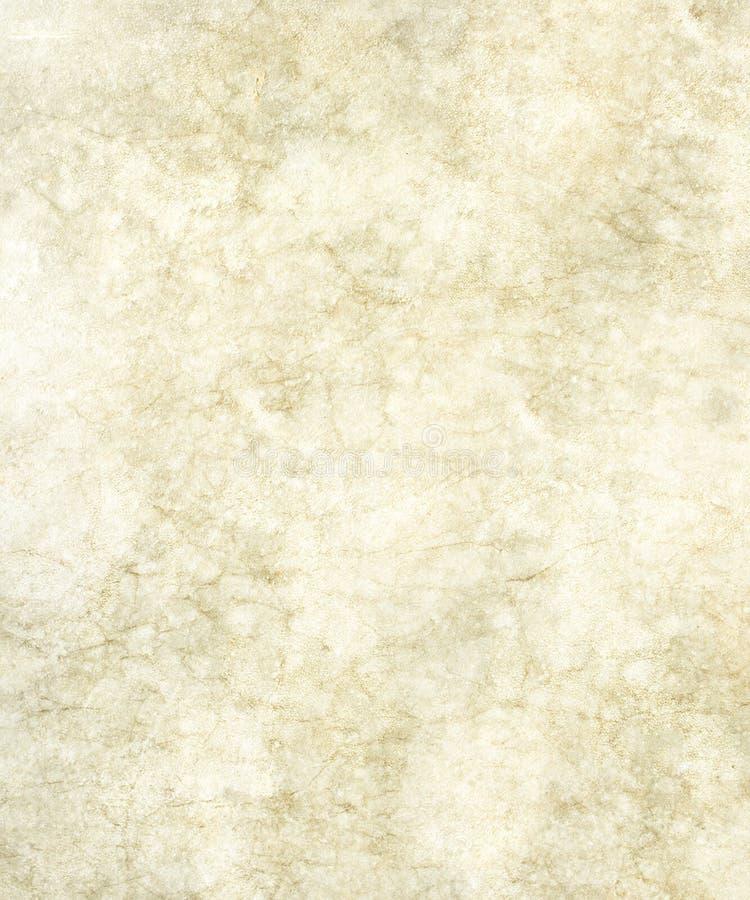 使有大理石花纹的老羊皮纸 免版税库存照片