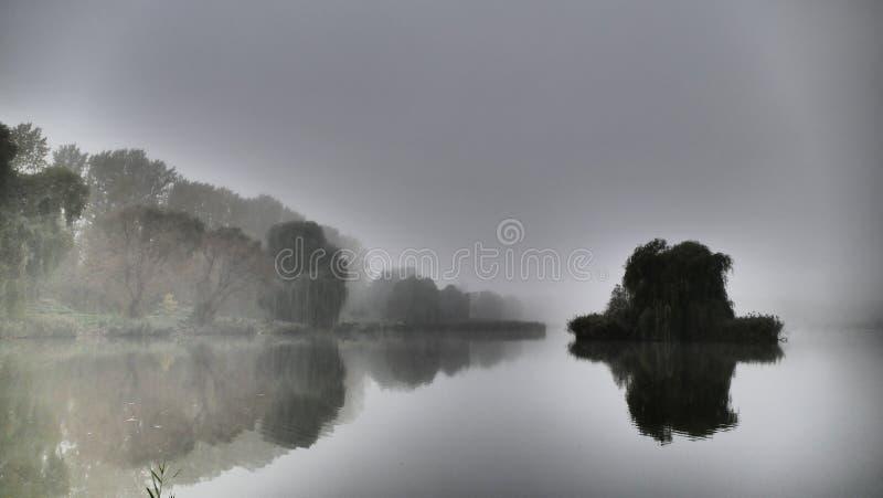 使模糊在`摩洛哥`池塘在卡托维兹 波兰 欧洲 免版税库存照片