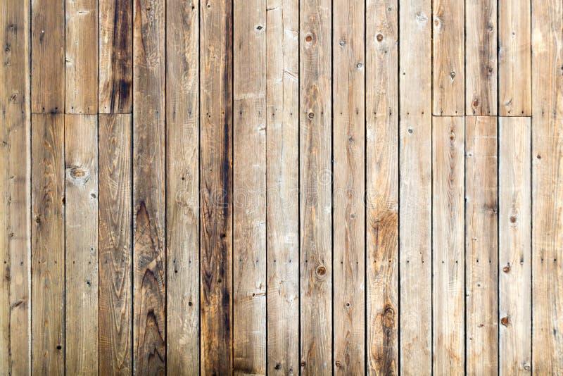 使用的木甲板 库存照片