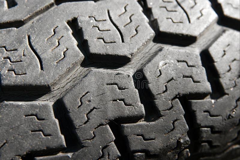 使用的轮胎 免版税库存图片