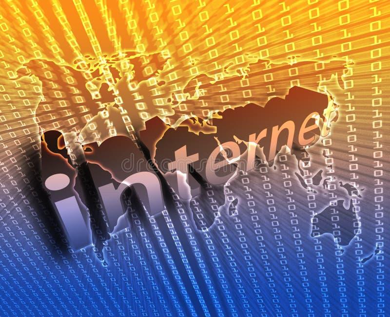 例证互联网 皇族释放例证