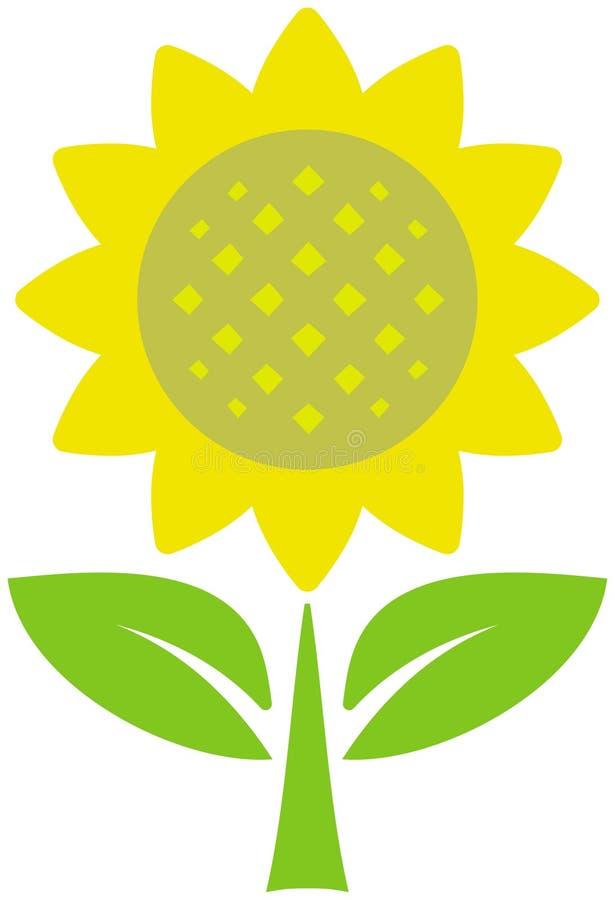 例证向日葵向量 向量例证
