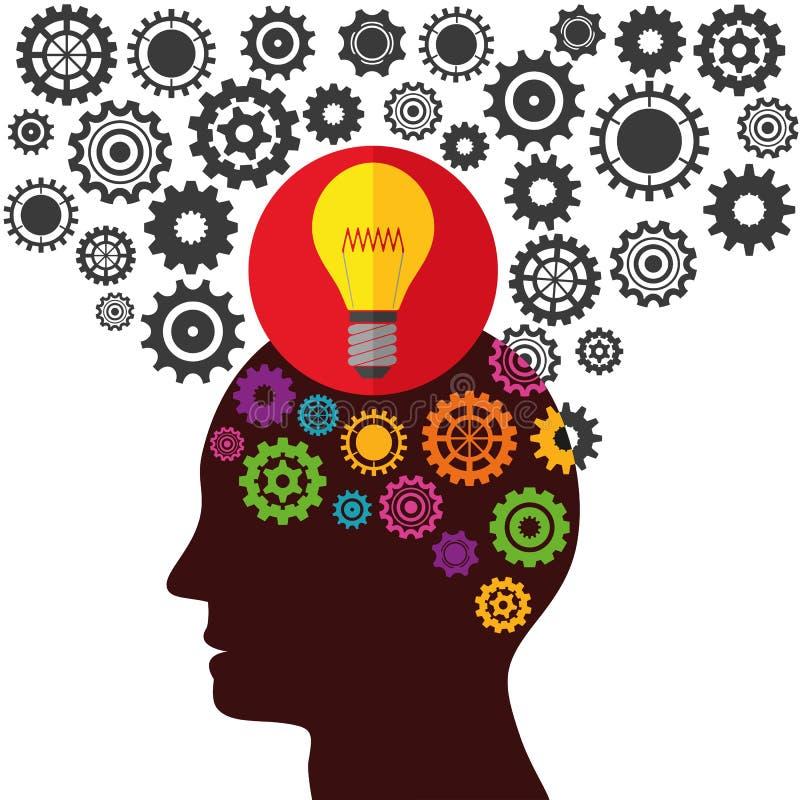例证向量图形创造性和想法 向量例证