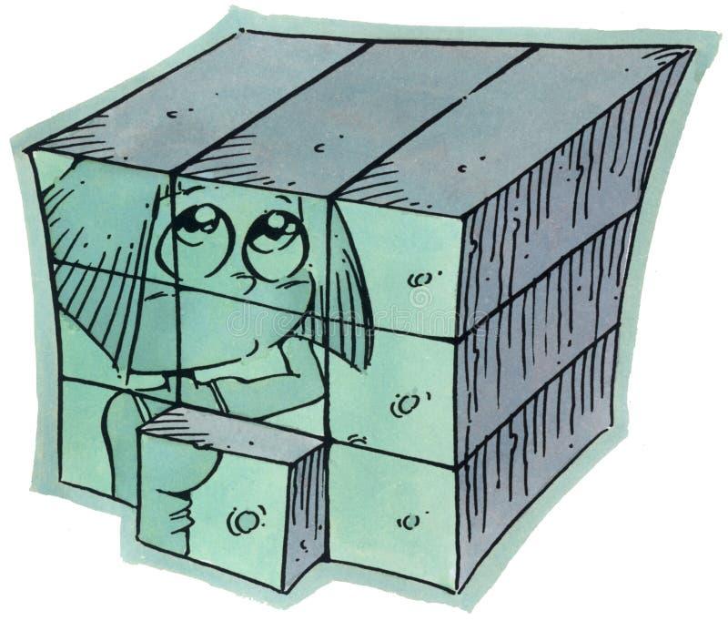 例证和绘画 免版税库存图片