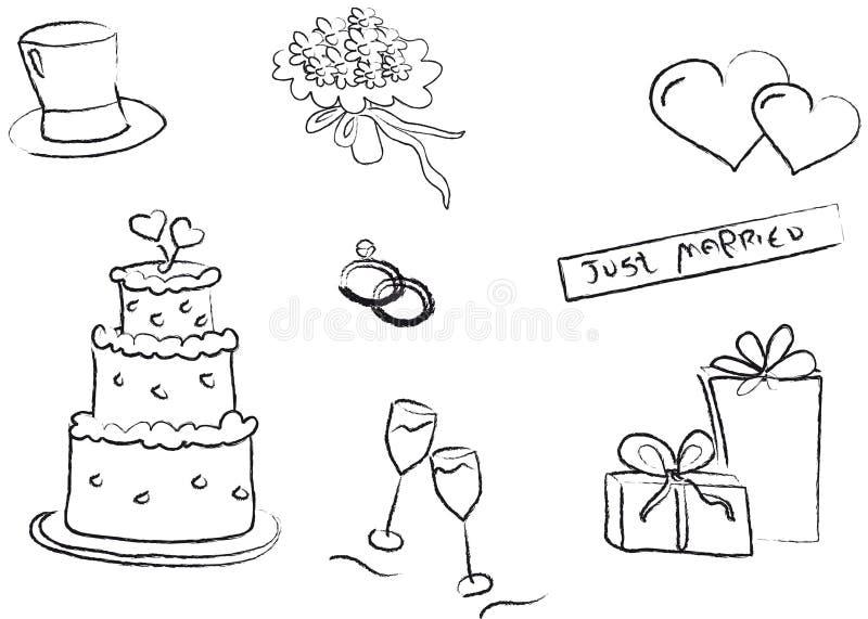 例证婚礼 向量例证