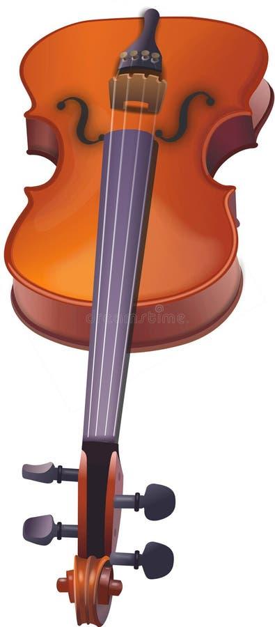 例证小提琴 免版税库存照片