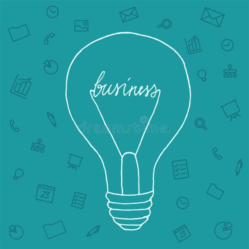 Download 例证想法在事务领域 库存例证. 插画 包括有 办公室, 钞票, 徽标, 想法, 闪亮指示, 网络连接, 介绍 - 62537640