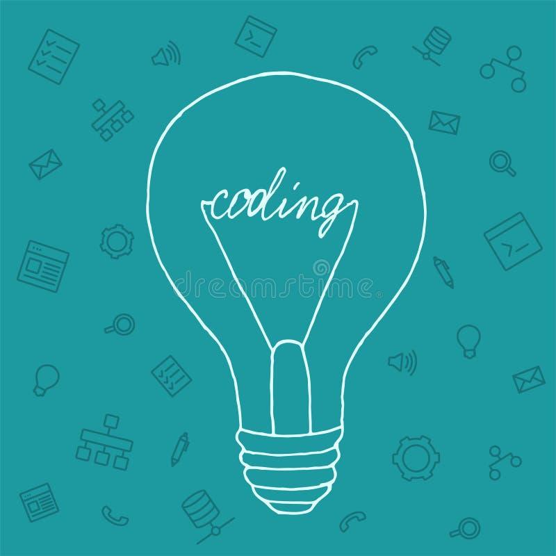 Download 例证想法在编程领域 库存例证. 插画 包括有 平面, 设计, 互联网, 工具, 社会, 计算机, 编程, 徽标 - 62537892