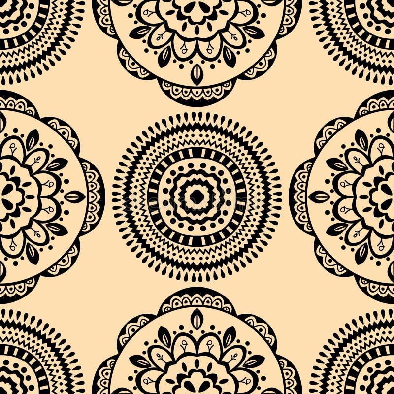 Download 例证模式无缝的向量黄色 向量例证. 插画 包括有 墨水, 华丽, 东方, 种族, 织品, 聚会所, 图象 - 59100592