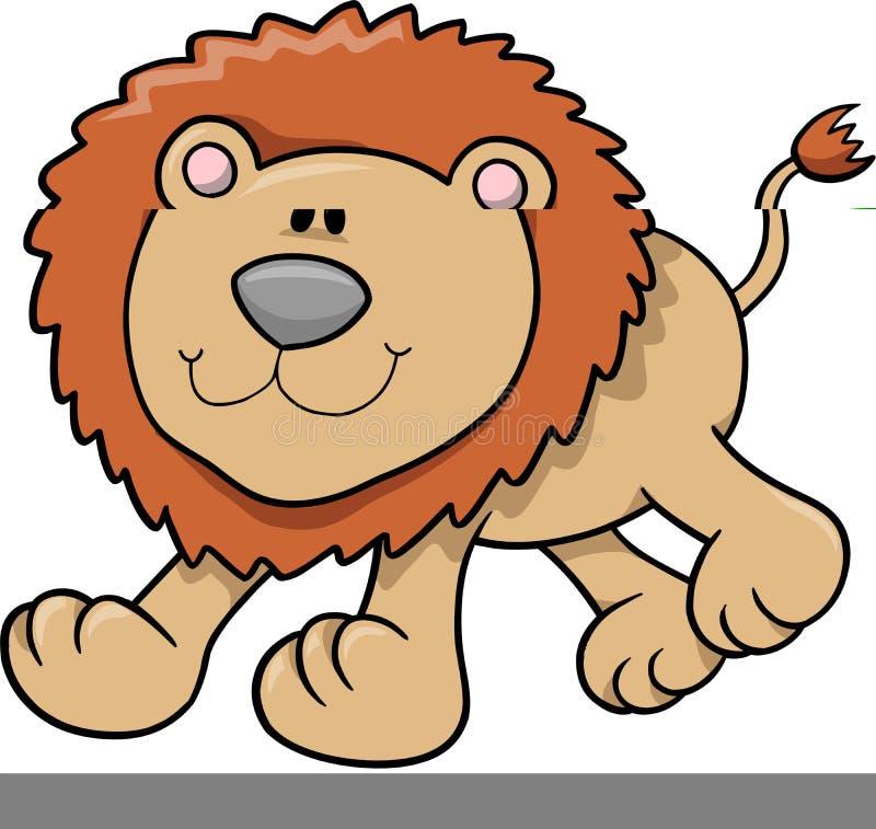 例证狮子向量 皇族释放例证