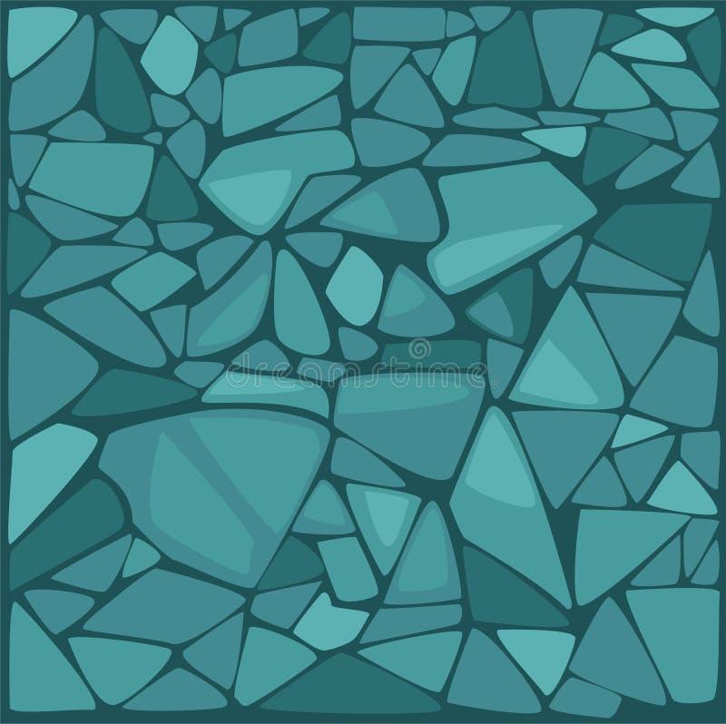 例证石向量墙壁 向量例证