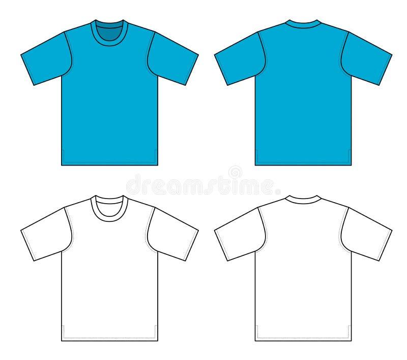 例证衬衣t 库存例证